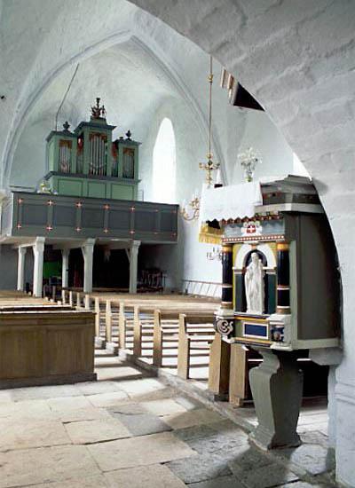 risti kiriku sise