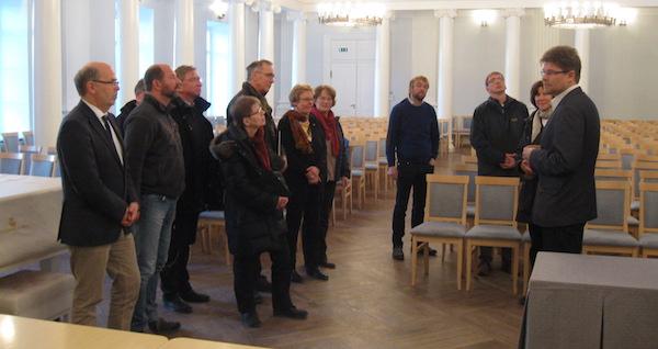 Saksa kiriku delegatsioon Eestis