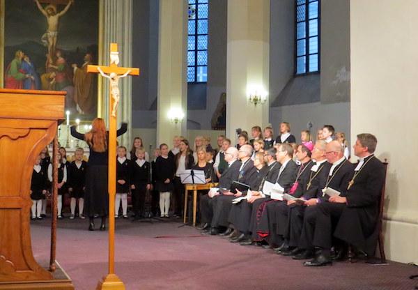 Juubeliaasta avati oikumeenilise jumalateenistusega