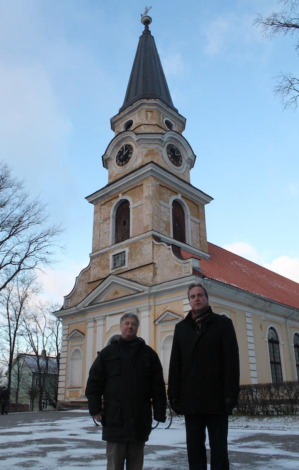 Kirik Võru keskel