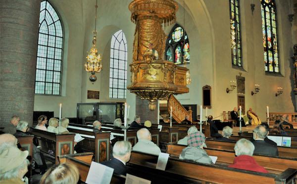 Pidurüüs Stockholmi Eesti kogudus