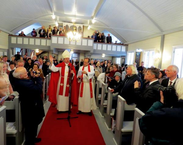 Uuesti pühitsetud Jumala templiks ja koguduse koduks