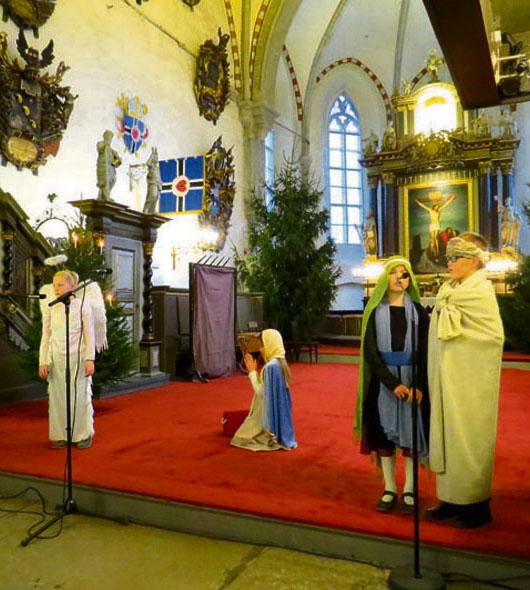 Toomkooli lapsed etendasid jõuluevangeeliumi
