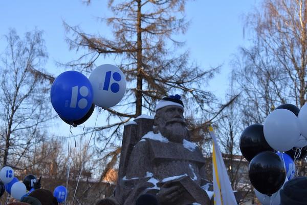 Eesti Vabariigi juubelit tähistati väärikalt