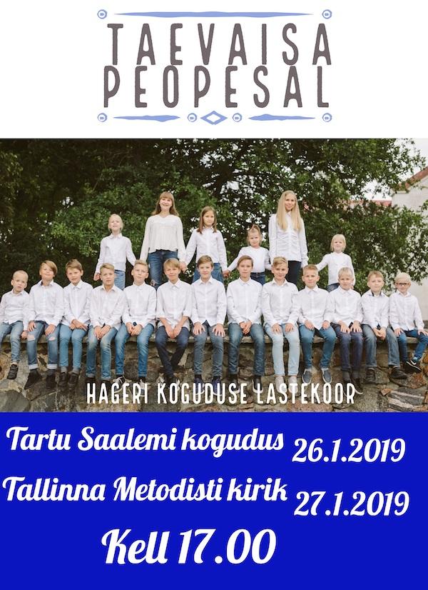 Hageri lastekoor plakaat 2019