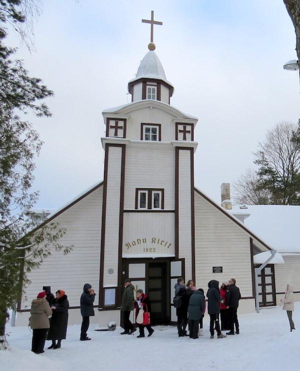 Nõmme Rahu kirik – 95 aastat Vabadussõja mälestusmärk