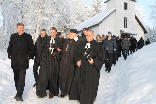 EELK vaimulikud on Nelijärvel