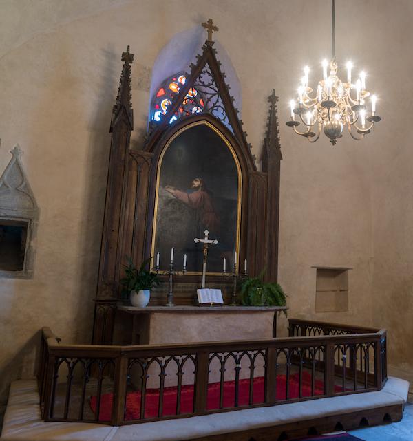 haljala kiriku altar