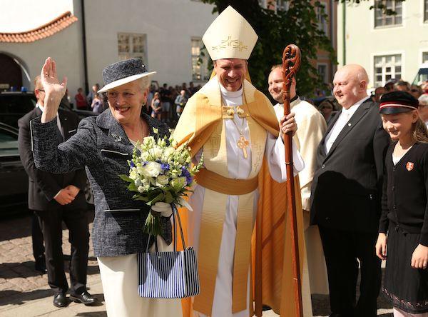 Taani kuninganna Margrethe külaskäik