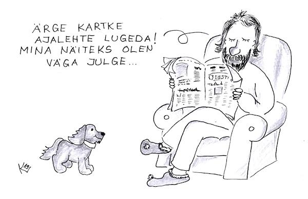 EK karikatuur 2019-10-16