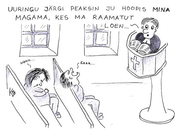 EK karikatuur 2019-10-23