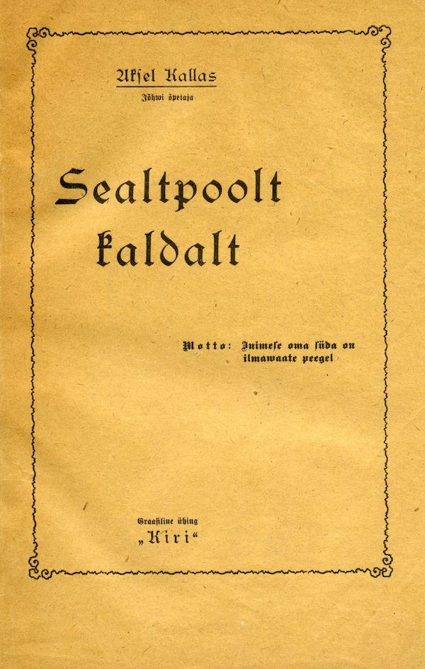 Pärnu, 1921