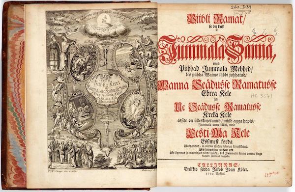 Piibel 1739