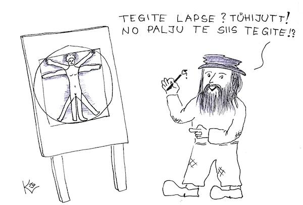 EK karikatuur 2019-12-04