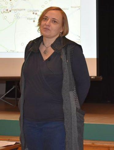 Marika Mägi huviobjektiks on viikingiaeg. Kaisa Linno