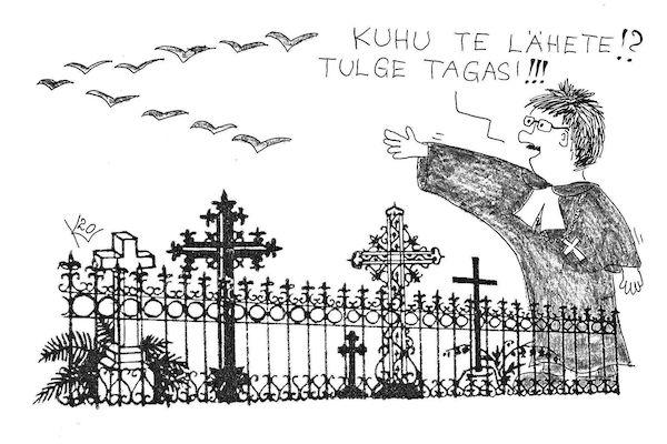 Surnuaiapühade ilu ja valu