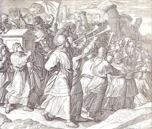 Joosua juhtis Iisraeli rahva tõotatud maale